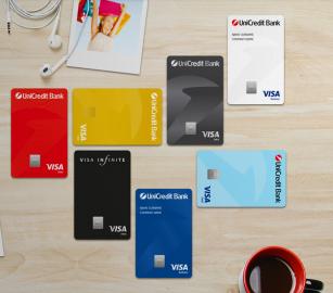 UniCredit Bank převydá platební karty, místo Mastercard klienti dostanou Visu. Repro web UniCredit Bank. (13. 7. 2020)