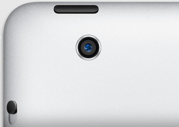 Apple iPad 4 fotoaparát