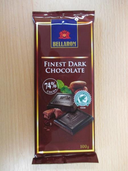 FINEST DARK CHOCOLATE 74 % COCOA - Hořká čokoláda