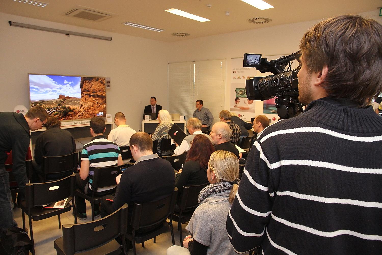 Představení prvního Ultra HD televizoru od LG