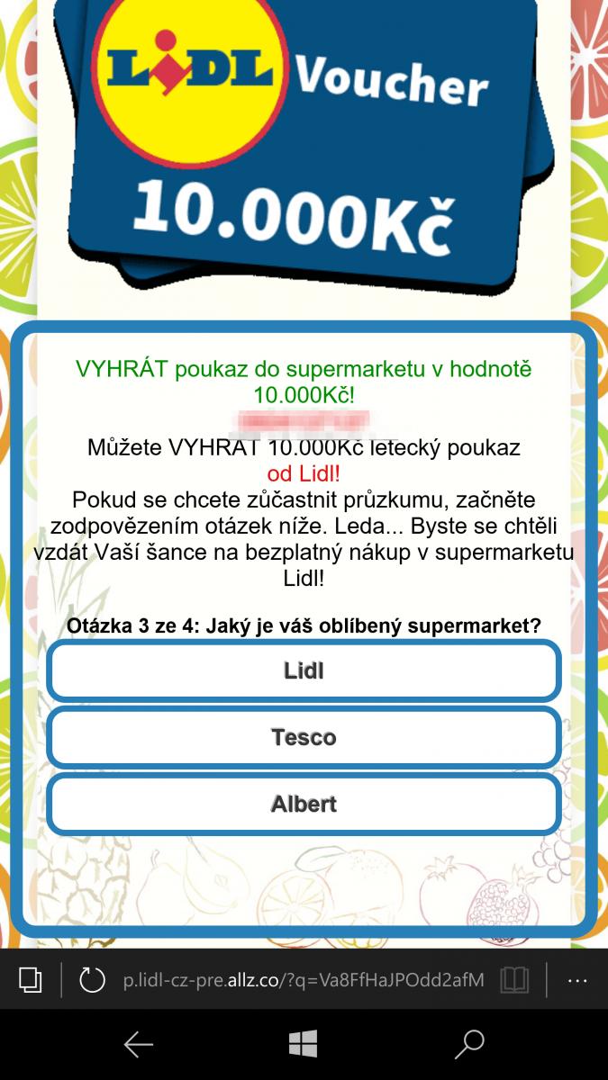 SMS podvody