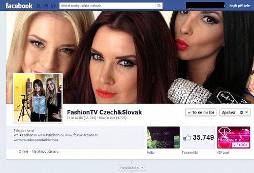 Česko-slovenská Fashion TV má na Facebooku slušnou fanouškovskou základnu. Už se blíží k číslu 36 tisíc.