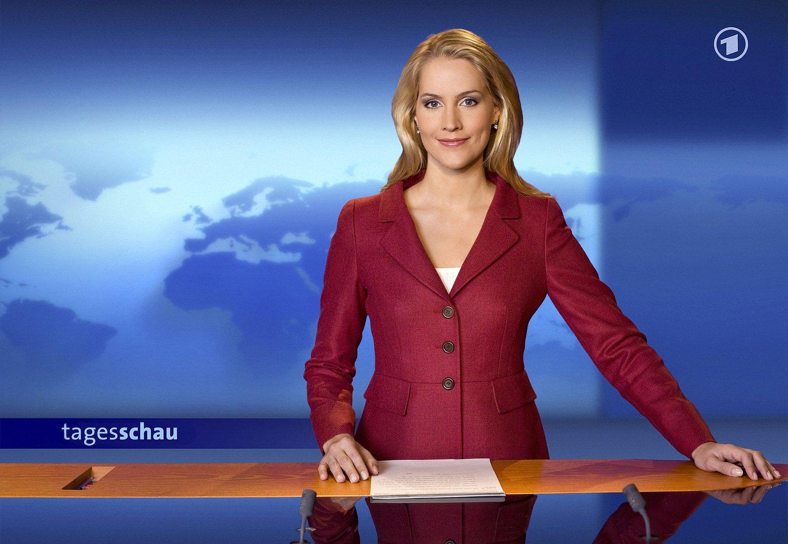 Moderátoři zpravodajské relace Tagesschau