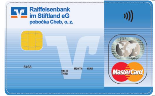 Raiffeisenbank im Stiftland platební karta