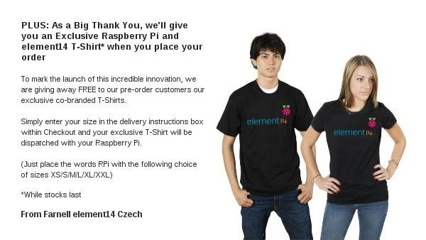 Raspberry Pi - tričko