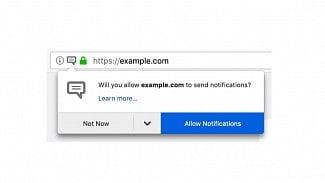 Firefox notifikace