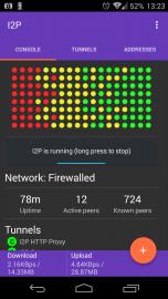 I2P Router na chytrém telefonu s Androidem
