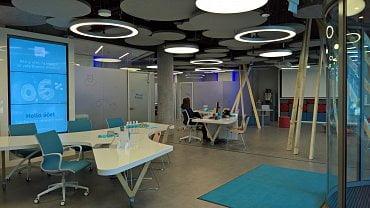 Ostravská pobočka Hello bank! v prostorách administrativního centra Nová Karolina Park.