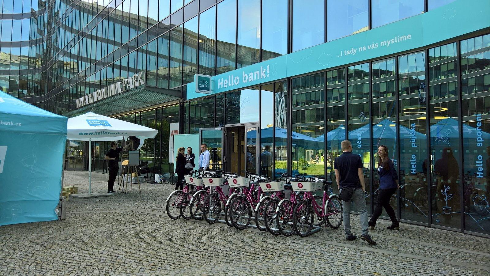 Hello bank! v Ostravě