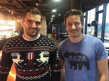 Lubo Smid (vlevo) a David Semerád, STRV