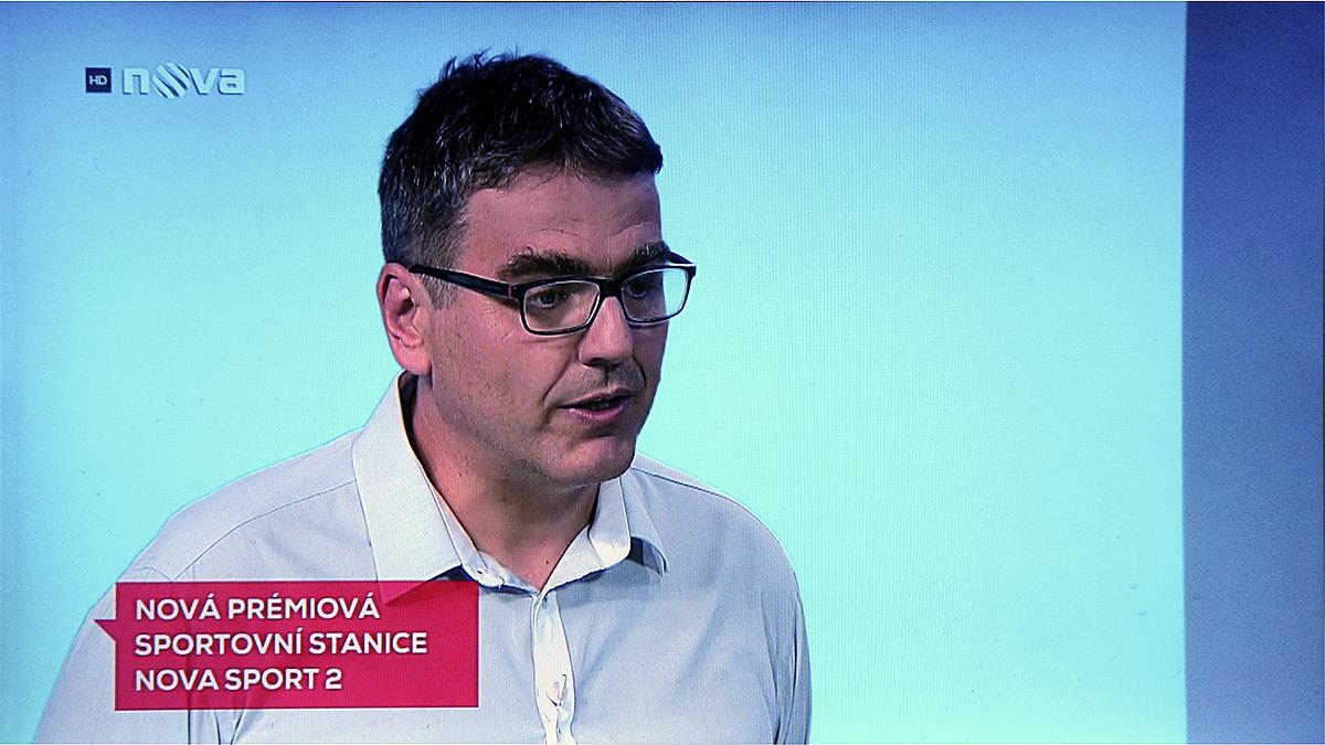 Reportáž ke spuštění kanálu Nova Sport 2