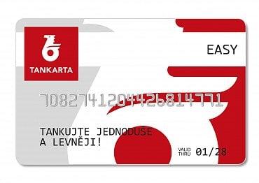 Tankovací karta společnosti Benzina.
