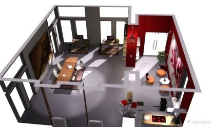 romeon 3D-Planner vám pomůže s vizualizací vašeho vysněného bytu