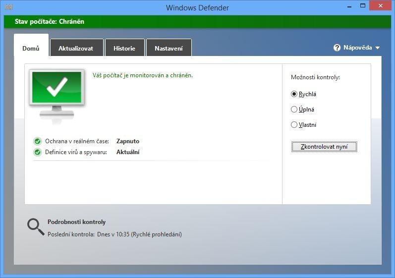 Windows Defender ve Windows 8.1