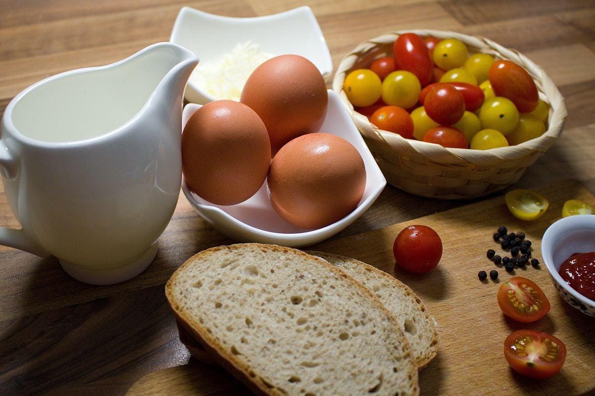 Fotorecept: Vaječná omeleta