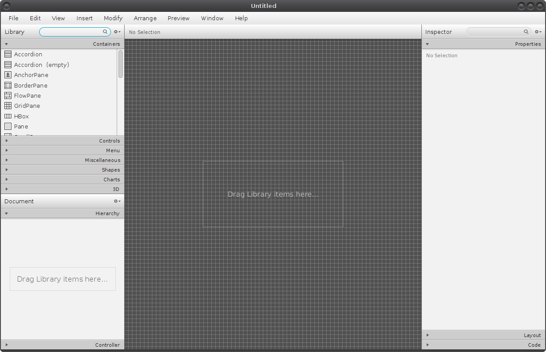 Instalace Scene Builderu a PostgreSQL