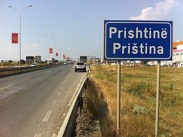 Priština, hlavní město Kosova.