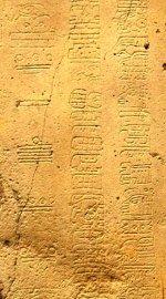 Fragment mayského kalendáře
