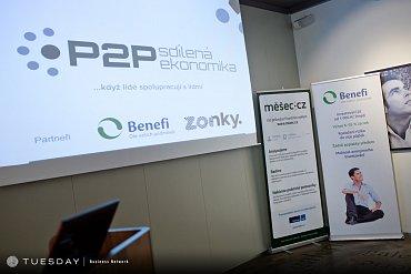 Konference P2P sdílená ekonomika