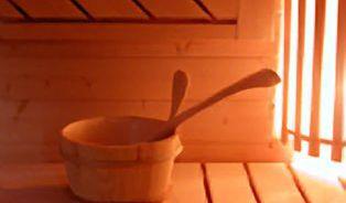 Sauna je slast. A zdravá!