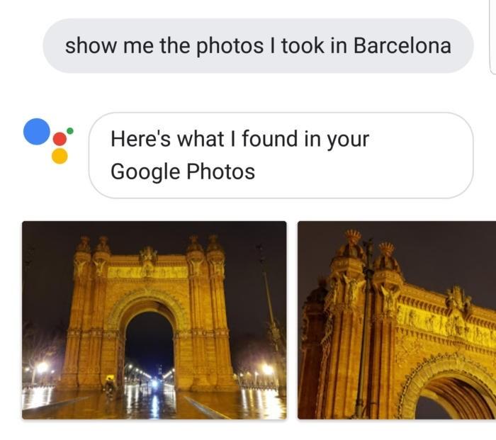 Zobrazení fotografií ve Fotkách Google přes Asistenta Google