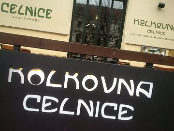 Restaurace Kolkovna.