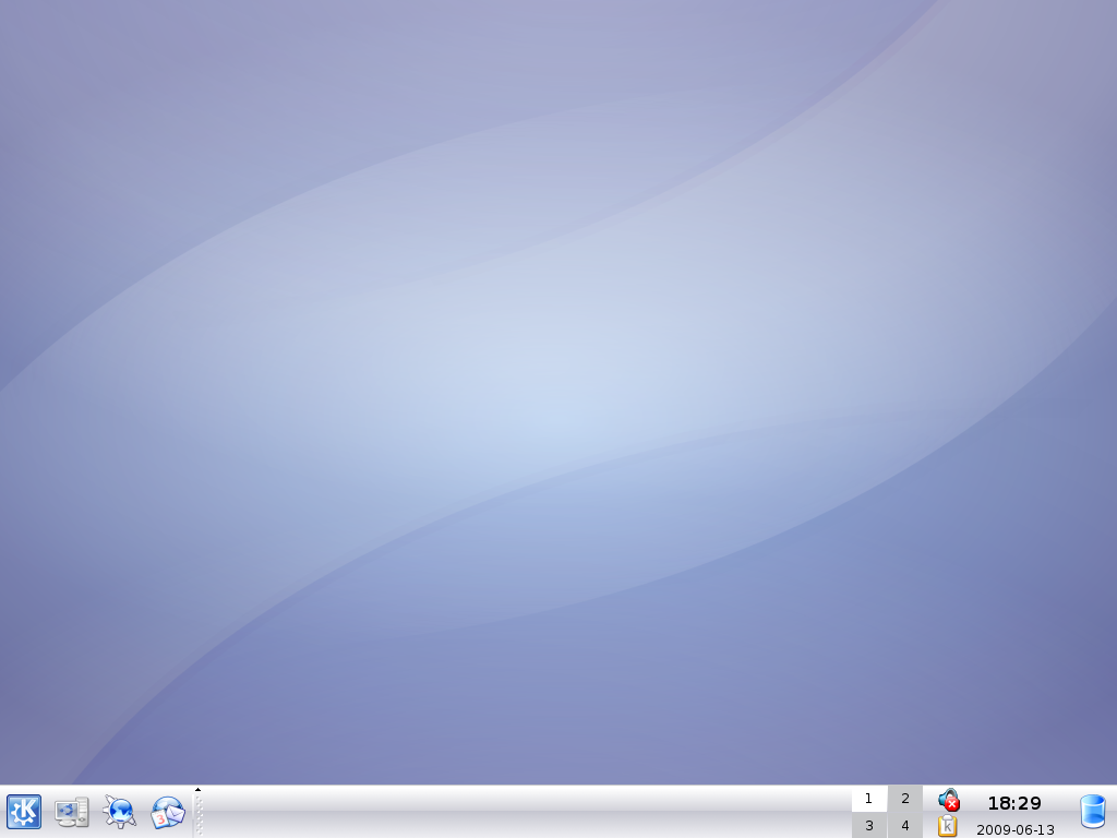 Kubuntu 6.10 (Edgy Eft)