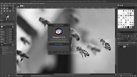 Glimpse 0.2.0 v Mageia 8 / GNOME 3.38