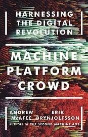 Kniha Machine, Platform, Crowd od autorů Druhý věk strojů