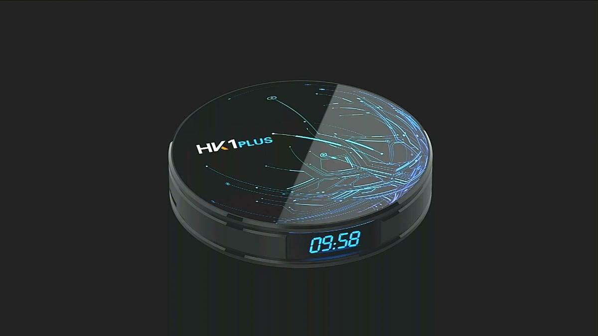 Uživatelské prostředí HK1 Plus