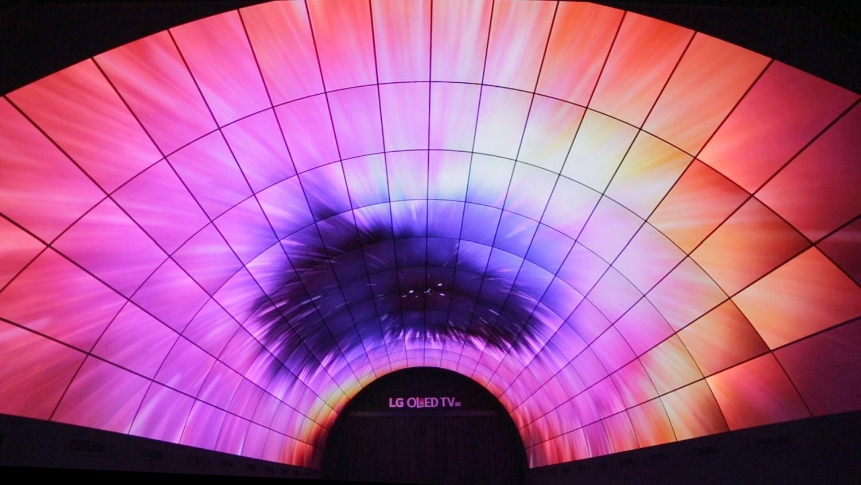 IFA 2016 - LG OLED tunel