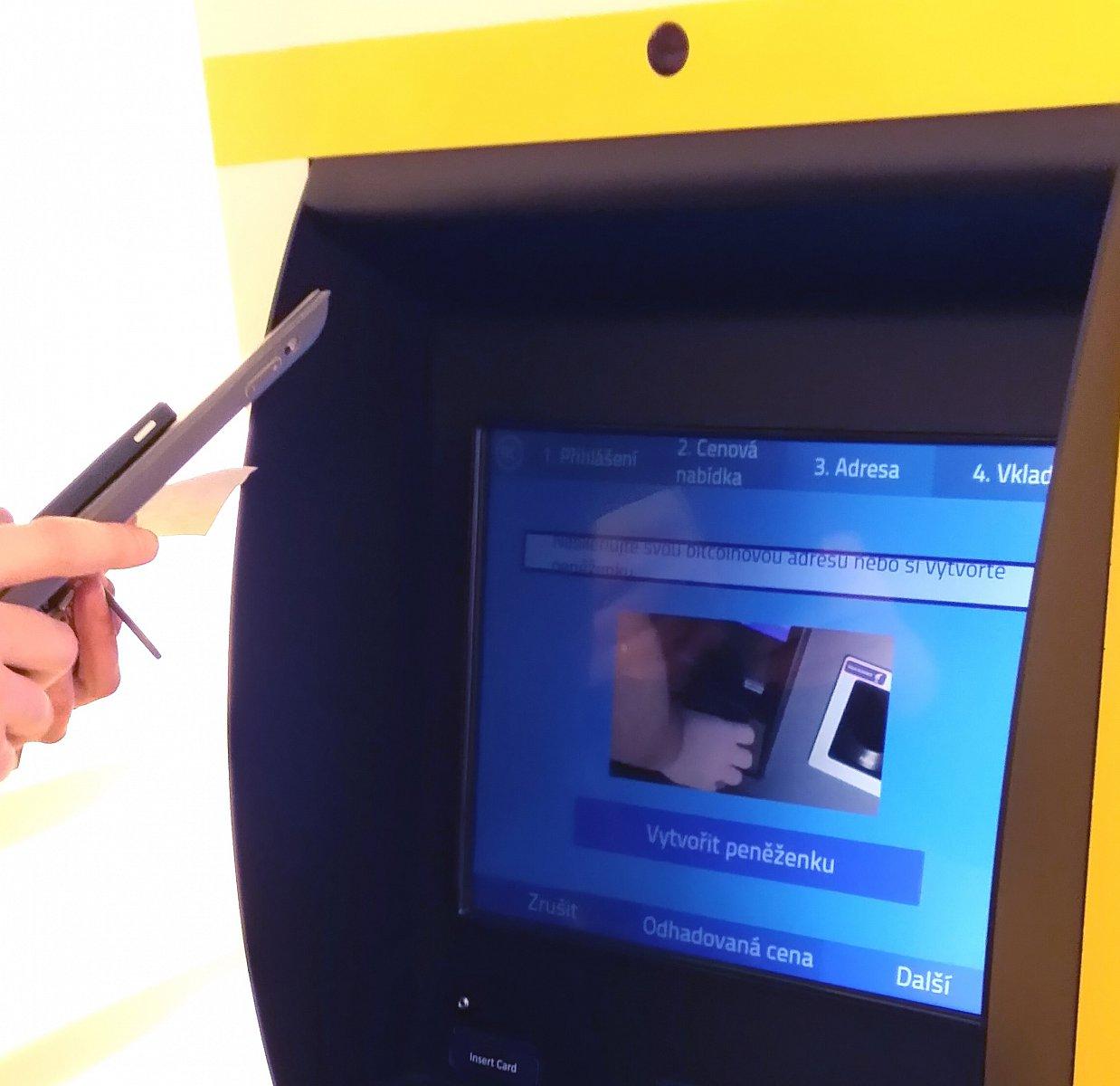 Robocoin - první bankomat na bitcoiny v Praze