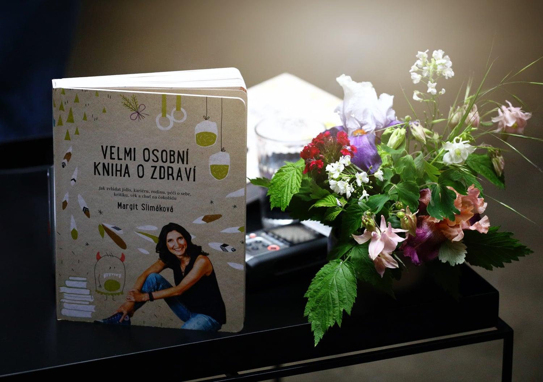 Křest knihy Margit Slimákové: Velmi osobní kniha o zdraví