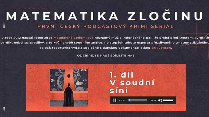 [aktualita] Podcast Matematika zločinu vyšel knižně, popisuje i zákulisí Českého rozhlasu