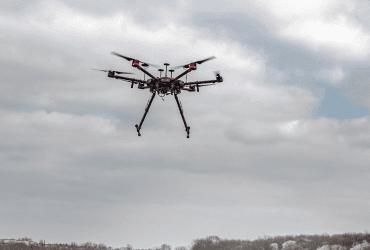 Drony pro velké senzory