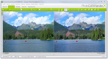 Ukázka automatické optimalizace fotografií