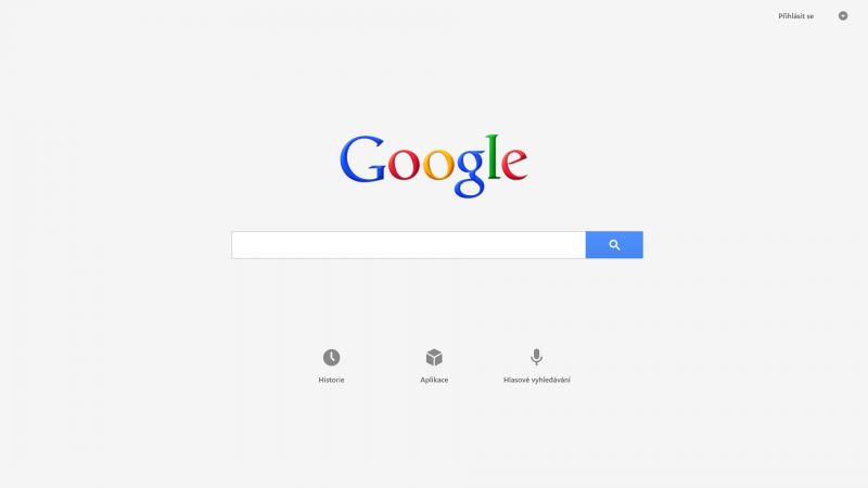 Google Search pro Windows 8
