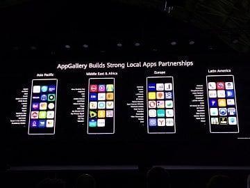 Budování Huawei App Gallery za pomocí populárních lokálních aplikací