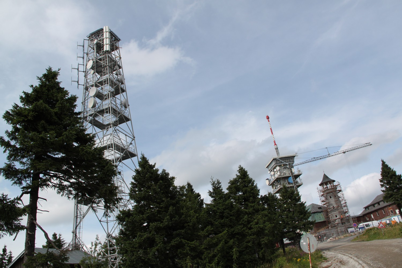 Klínovec - ČRa, Progress Digital a Digital Broadcasting