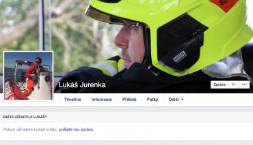 Veřejný profil Lukáš Jurenky na Facebooku.