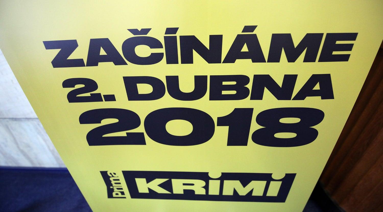 Tisková konference Prima Krimi, březen 2018