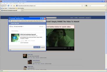 Podvod Facebook