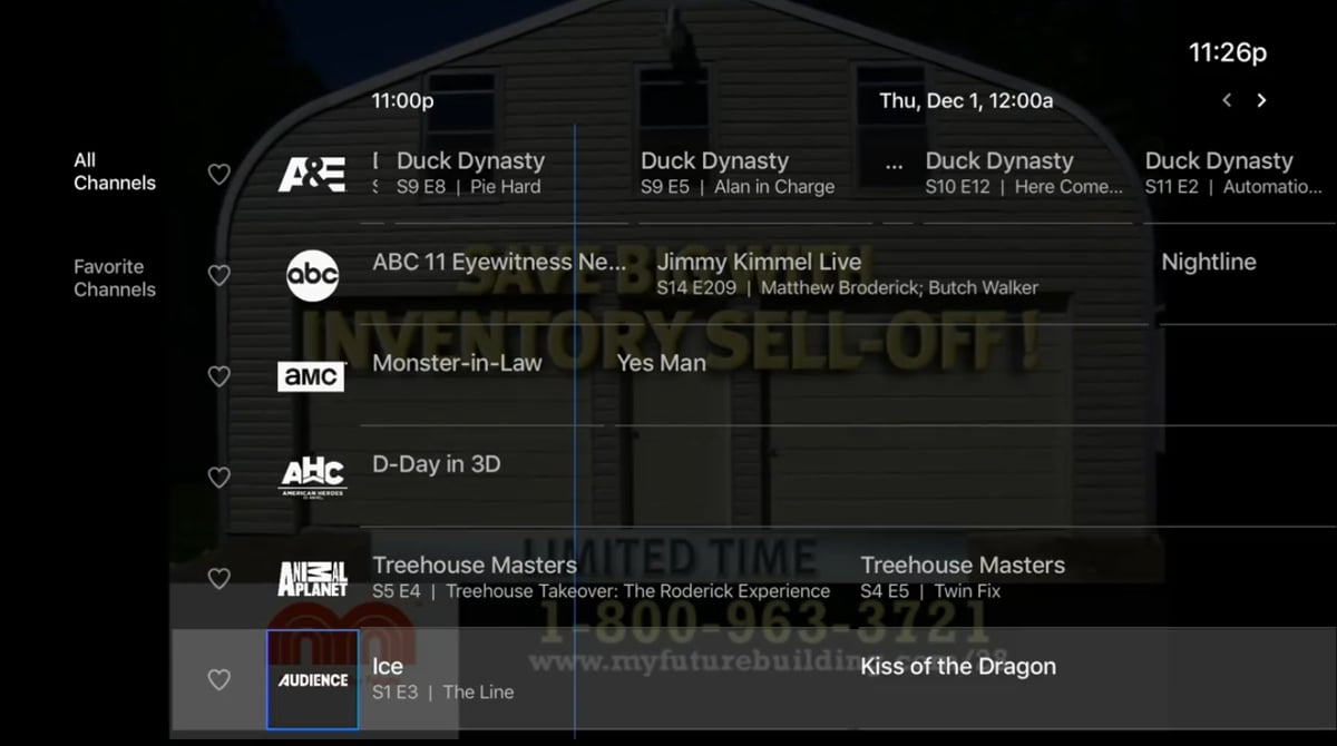 DirecTV - Volby Guide a Search