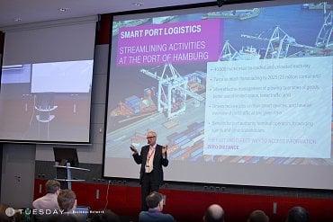 "Ernst-Joachim Steffens na konferenci ""Internet věcí"""