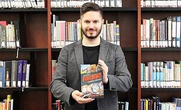 Politolog Miloš Gregor, jeden z autorů publikace Nejlepší kniha o fake news.