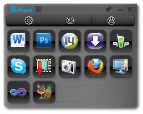 Mouse Extender - panel zástupců pro rychlé spouštění aplikací