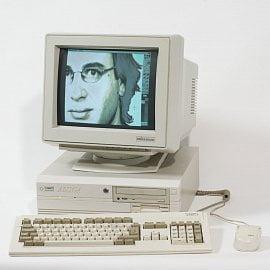 Amiga 4000 v desktop verzi - špička celé řady způsobující fanouškům třas v kolenou.