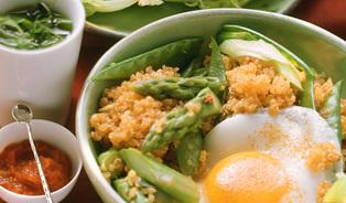 Superpotravina quinoa je jídlo– chameleon