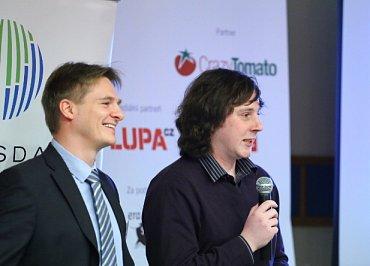 Aleš Dynda (Raiffeisenbank) a Petr Dvořák (Inmite)