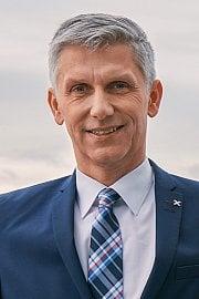 Jan Jeníček, předseda představenstva Raiffeisen stavební spořitelny, předseda Asociace českých stavebních spořitelen a prezident Evropského sdružení stavebních spořitelen. (05/2020)